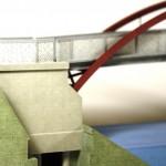 3D Druck Detail Widerlager
