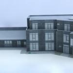 3D Druck Bürogebäude